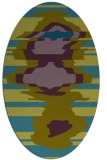 rug #697479   oval abstract rug