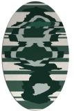 rug #697552   oval abstract rug