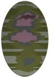 rug #697554   oval abstract rug