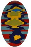 rug #697587   oval abstract rug