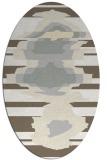 rug #697701 | oval abstract rug