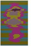 rug #697833 |  pink graphic rug
