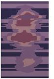 rug #697865 |  purple graphic rug