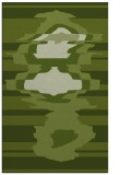 rug #697893 |  green graphic rug