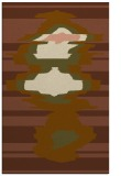 rug #697913 |  mid-brown abstract rug