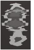 rug #697969 |  orange abstract rug