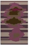 rug #697993 |  purple graphic rug