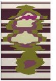 rug #697997 |  green abstract rug