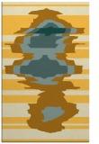 rug #698073    yellow graphic rug