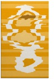 rug #698105 |  light-orange graphic rug