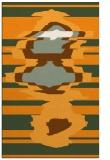 rug #698113 |  light-orange abstract rug