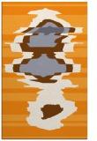 rug #698117 |  light-orange graphic rug