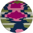 rug #698158 | round abstract rug