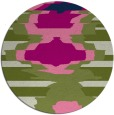 rug #698159 | round abstract rug