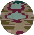 rug #698241 | round mid-brown popular rug