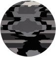 rug #698395 | round graphic rug