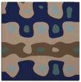 rug #700617 | square blue abstract rug