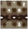 rug #700725 | square mid-brown abstract rug
