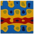rug #700753   square blue abstract rug