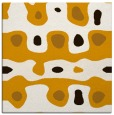 rug #700881 | square brown abstract rug