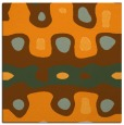 rug #700929 | square light-orange retro rug