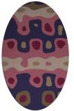 rug #701045   oval beige retro rug