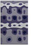 rug #701377 |  blue-violet abstract rug