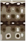 rug #701429 |  white abstract rug