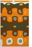 rug #701633 |  light-orange abstract rug