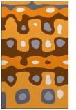 rug #701637    light-orange retro rug