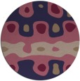 rug #701749 | round abstract rug