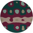 rug #701763 | round abstract rug
