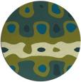 rug #701771 | round retro rug