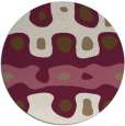 rug #701794 | round abstract rug