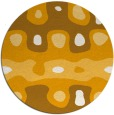 rug #701979 | round abstract rug