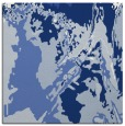 rug #702385 | square blue abstract rug