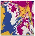 rug #702449   square blue-violet graphic rug