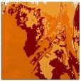 rug #702537 | square orange graphic rug