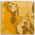 rug #702681 | square light-orange abstract rug