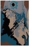 rug #703065 |  brown graphic rug