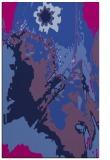 rug #703077 |  blue graphic rug