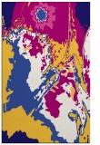 rug #703153 |  blue-violet graphic rug