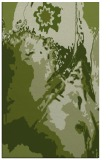 rug #703173 |  green abstract rug