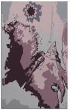 rug #703285 |  purple abstract rug