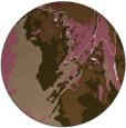 rug #703553 | round beige abstract rug