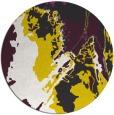 rug #703704 | round graphic rug