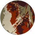 rug #703717   round beige abstract rug