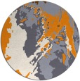 rug #703750 | round abstract rug