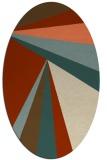 rug #704655   oval stripes rug