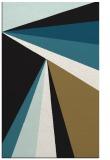 rug #704829 |  black stripes rug